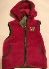 Soft & Warm- Nwt Girl's Earthtec fleece vest size medium