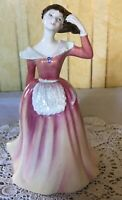 ROYAL DOULTON LADY PATRICIA MODEL No. HN 3907  PINK & YELLOW DRESS  PERFECT