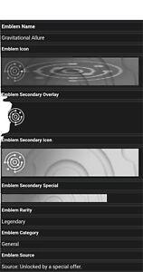 Destiny 2 Gravitational Allure Emblem Code - Code in Hand!!