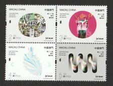 MACAU CHINA 2019 30TH MACAO ARTS FESTIVAL BLOCK COMP. SET OF 4 STAMPS IN MINT