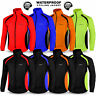 Mens Cycling Waterproof Rain Jacket Hi Visibility Running Top Coat QUALITY