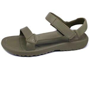 Teva Hurricane Drift Burnt Olive Water Sandals Men's Size 13 Water Resistant