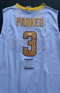 Candace Parker Signed Autographed Tennessee Jersey PSA WNBA Coa
