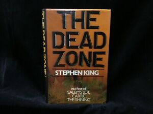 First UK Edition - The Dead Zone - Stephen King [Macdonald 1979] Thriller Sci Fi