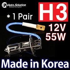 H3 12V 55W Halogen Headlight Globe Bulbs Fits Hyundai TRAJET NISSAN XTRAIL 300ZX
