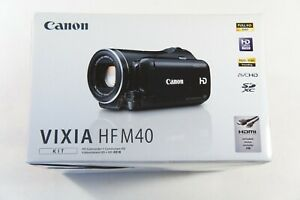 Canon VIXIA HF M40 16 GB Flash Media Hard Drive HD Camcorder, Brand NEW