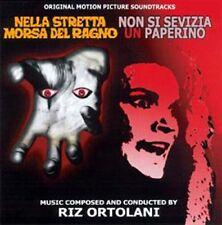 Riz Ortolani: Non Si Sevizia Un Paperino/Nella Stretta Morsa Del Ragno (Seal CD)