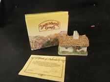 David Winter Cottages Sussex Cottage Mib Coa Miniatures