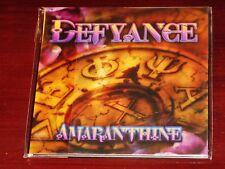 Defyance: Amaranthine - Limited Edition CD 2014 Minotauro Records Italy NEW