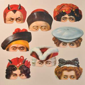 Mamelok Madame Tussauds Paper Masks (R416)