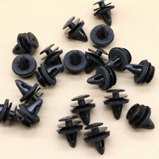 100 x Black Nylon Door Panel Retainer Clips With Sealer For Nissan For Infiniti