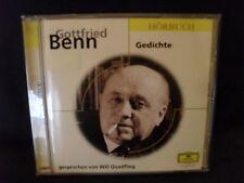 Gottfried Benn - Gedichte  gesprochen von Will Quadflieg