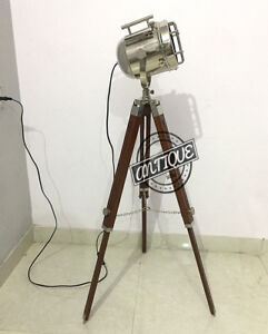Vintage Medium Electric Corded LED Focus Studio Night Searchlight Spot-Ligh