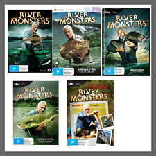 River Monsters: Season 1, 2, 3, 4 & The Best Of DVD Set Region 4 Jeremy Wade