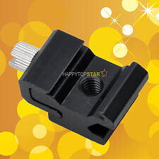Photo Flash Hot Shoe Hotshoe Adapter Mount With 1/4 Screw Bracket Thread Bracket