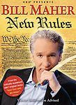 BILL MAHER NEW RULES DVD 2006 HBO Politics Fast Food Cell Phones Gas Prices NEW