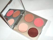 Stila Eye Shadow & Cheek blush Palette Blanc pink burgundy peach sand
