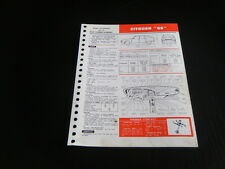 FICHE TECHNIQUE AUTOMOBILE RTA CITROEN GS (support6)