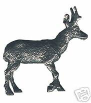 4 wholesale lead free pewter antelope figurines E5091