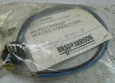 Nuevo Brad Harrison Micro-Change Moldeados Conector, # 80397-18, Garantía