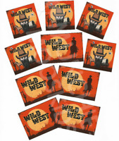 Wild West Stickers - Western Cowboy Party Bag Fillers Pack Sizes 10 - 100