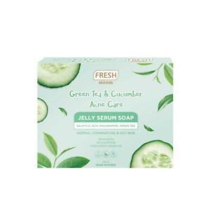 Fresh Skinlab Green Tea and Cucumber Jelly Serum Soap