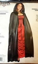 HOODED LAME FULL LENGTH CAPE HALLOWEEN ADULT WOMENS COSTUME FUCHSIA, MSRP $50