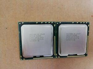 2 MATCHING Intel Xeon E5640 SLBVC 2.66GHz 12MB 4-Core LGA1366 CPU Processor(s)