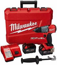 Milwaukee 2804-22 M18 Fuel 1/2-Inch Cordless Hammer Drill