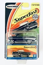 2005 Matchbox Superfast 1957 Blue Chevrolet Bel-Air Limited Edition New Sealed