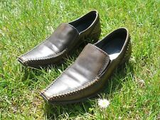 PIKOLINOS SHOES 5 1/2 - 6 USA LEATHER BRONZE-BROWN SPANISH DESIGN UK 3 EUR 36