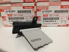 Genuine Isuzu Dmax Heater Fan Resistor & Air conditioner Resistor, 2008 - 2011