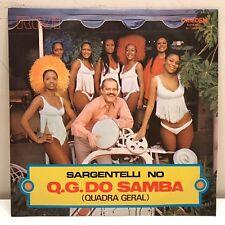 Sargentelli No Q.G. Do Samba Quadra Geral LP RCA Camden Brazil Import Cheesecake