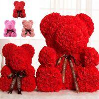 Rose/Teddy Bear Dolls Pop Flowers Valentine Christmas Girl Birthday Propose Gift
