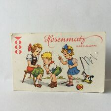 Vintage Hosenmatz Sewing Needle Book Made In Western Germany