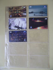 STILL MILL Complete Set 5 Different Phone Cards from Brazil