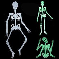 Scary DIY Luminous Human Skeleton Hanging Decor Halloween Party Skull Decor