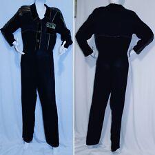 Vintage 1990's Black Jumpsuit ~ One Piece Pantsuit Spencer Alexis ~ Size 10
