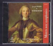 J BODIN DE BOISMORTIER CD (NEW MOTETS AVEC SYMPHONIE / H. NIQUET/ VERONIQUE GENS