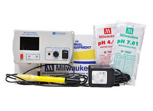 Milwaukee MC120 pH Continuous Monitor 115V, for pH Dosing/Monitor/Testing