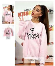 Kids Ariana Grande 7 Rings Designer Sweatshirt Fashion Casual Pullover Unisex