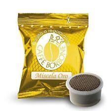 50 Capsule Miscela Oro - Compatibili con Lavazza Espresso Point - Caffè Borbone