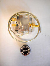 "THERMOSTATIC TEMPERATURE AIR CONDITIONER SWITCH 'UNIVERSAL' 24"" CAPILLARY W/KNOB"