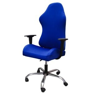 Office Swivel Computer Gaming Chair Cover Only Slipcover Stretch Armchair Cover