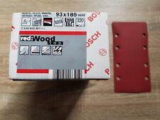 Bosch Feuilles Abrasives RedWood Top 93 x 185 mm, 320, (x50)