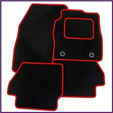VOLKSWAGEN UP (2012 on) TAILORED CAR MATS CARPET MAT RED TRIM & CLIPS