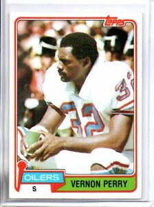 1981 TOPPS VERNON PERRY (NM) <<