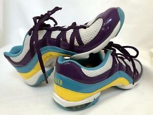 Bloch ~ Wave Dance Trainer Sneaker ~ Split Sole Tennis Shoe ~ Purple ~ Size 8.5