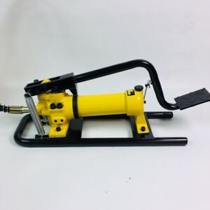 HHB-800 High / Low Speed Foot Operated 700 BAR Hydraulic Pump