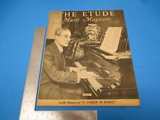 Etude Music Magazine March 1938 Vol.LVI  #3 A Romance Of Easter Carols  L263